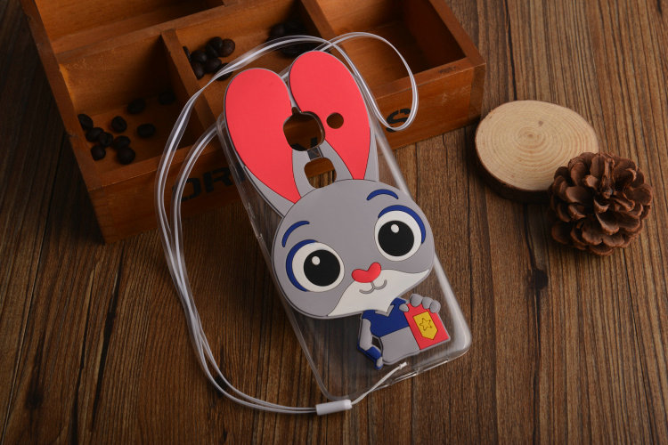 3D Rabbit Cute Cartoon Soft TPU Silicone Cover Case For font b LeEco b font Letv