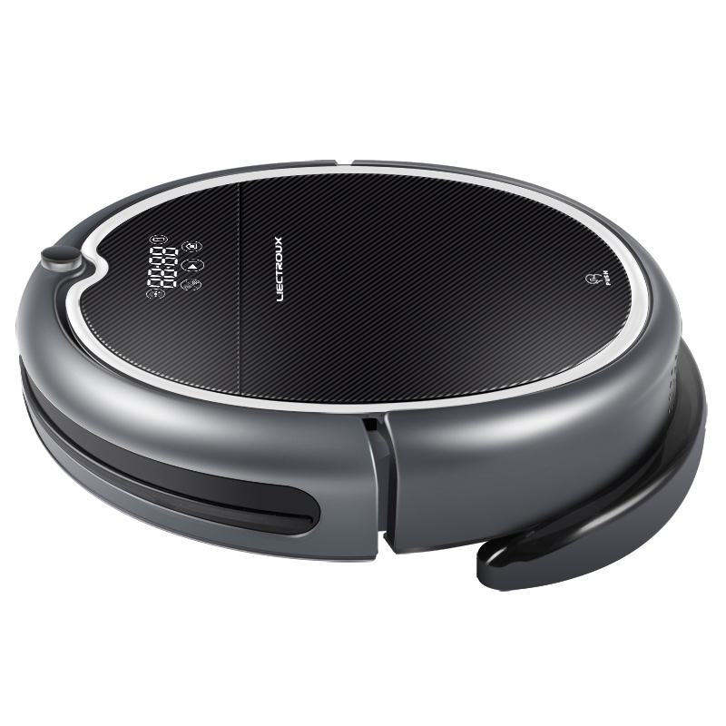 Купить с кэшбэком (FBA)LIECTROUX Robot Vacuum Cleaner Q8000, WiFi,Wet Dry Mop,Map Navigation,Smart Memory,UV Sterilize,Suction3KPa,Brushless Motor