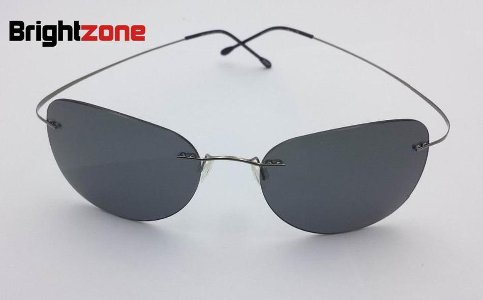 Rimless Glasses At Vision Express : 2016 New Ultra light Rimless Sunglasses Memory Pure ...