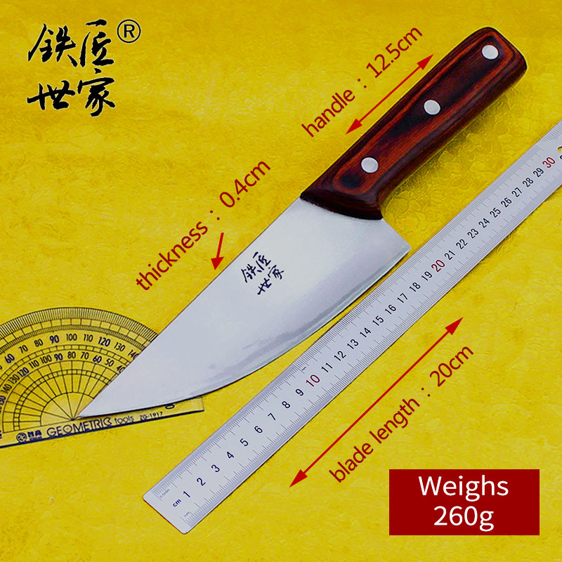 Chef boning knife Stainless steel handmade forged slicing Butcher knife cleaver vegetable meat fish sushi knife кухонные ножи in Kitchen Knives from Home Garden