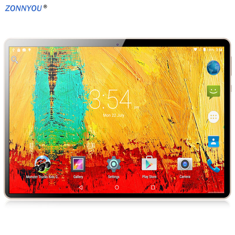 10.1-inch Tablet PC Android 8.0 3G Phone Call 4GB/64GB Dual SIM Card Octa Core Wi-Fi Bluetooth GPS Tablets PC 10.9/10.1+Cover