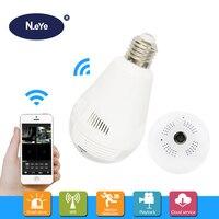 N Eye Bulb Camera HD 1080P 360 Degree Panoramic Professional IP Camera Home Indoor Security Led