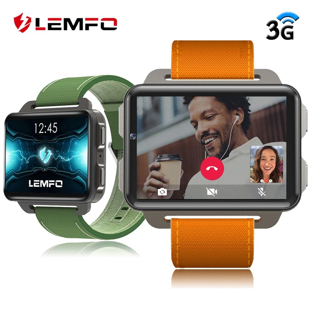 LEMFO LEM4 Pro 3G inteligente reloj Android soporte de teléfono tarjeta SIM GPS MP4 Bluetooth WIFI Smartwatch 1GB + reloj de pulsera para hombre de 16GB 1200mAh-in Relojes inteligentes from Productos electrónicos    1
