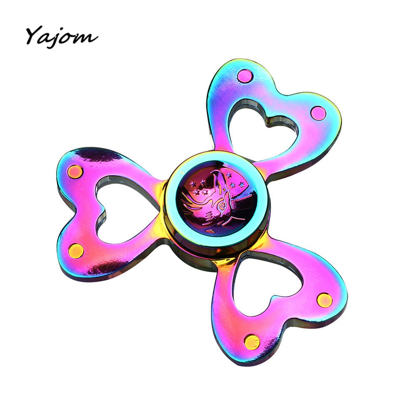Tri Fidget Hand Spinner Triangle Torqbar Finger Toy EDC Focus ADHD Autism Toys New High Quality