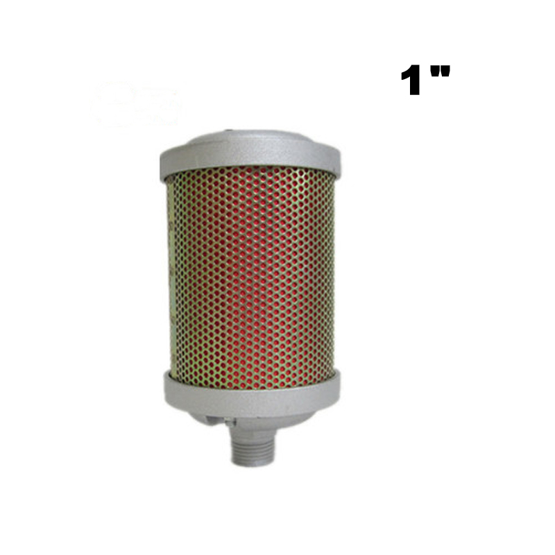 High Quality 1 DN25 Industrial Exhaust Filter Silencer Muffler For Adsorption Dryer Diaphragm Pump Air Compressor