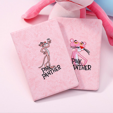 Pink panther case for ipad 2018 new embroid. A1822 A1893 shell embroidery tablet protector 2017/2018 9.7-inch