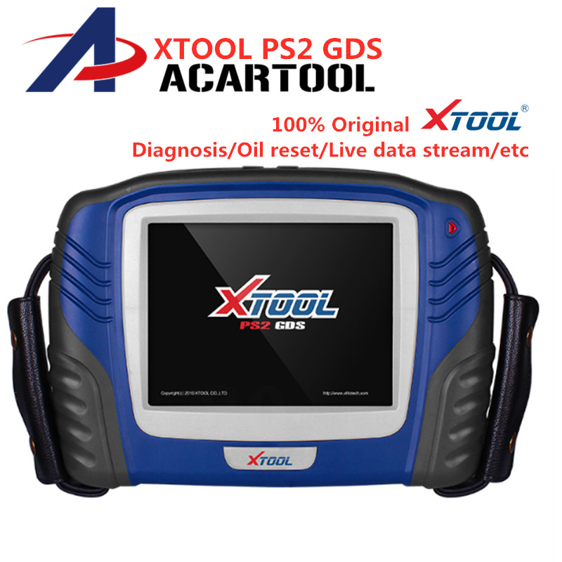 Original Xtool PS2 GDS Scanner Gasoline Car Diagnostic Tool PS2 GDS Free Update Oil Reset Auto Key Programmer Carton box-in Engine Analyzer from Automobiles & Motorcycles    1