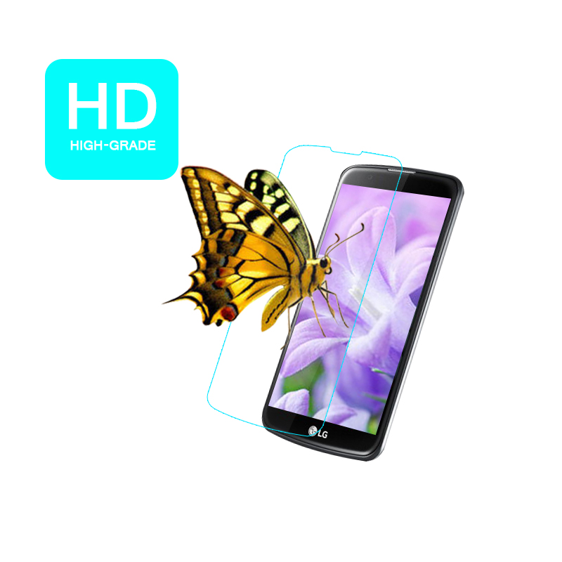 III VS425 4.5u0026quot; Clear glossy front protective films with 5pcs clean ...