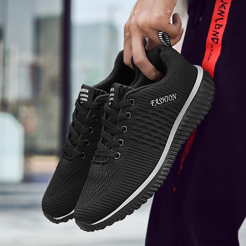 Купить с кэшбэком ZYYZYM Shoes Men Sneakers Spring Autumn 2020 Men Casual Shoes Mesh Breathable Light Fashion Men Shoes Footwear EUR Size 38-45
