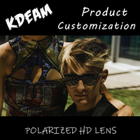 KDEAM Sunglasses Custom Wholesale Men's And Women's Sports Glasses Fashion Goggles Packaging Customization