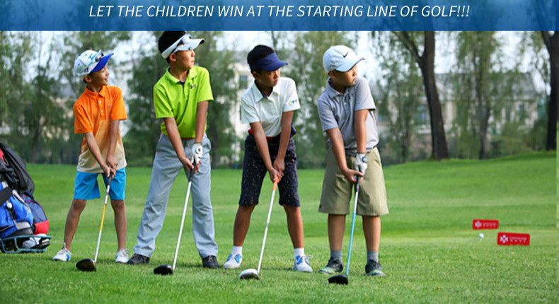 Young putter golf clubs boys and girls ball clubs childrens clubs