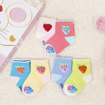 2Pairs/lots autumn cotton children's socks breathable children's socks warm and durable baby socks 0-2 years children's socks cow pattern socks 2pairs