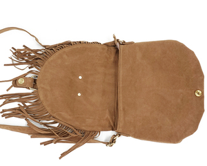 Image 5 - Lilyhood bolsa feminina com franja, estilo boho, de camurça falsa, com borla, estilo boho, ginástica, boêmia, tribais, ibiza, estilo carteiro e bolsa de corpo cruzado 2020