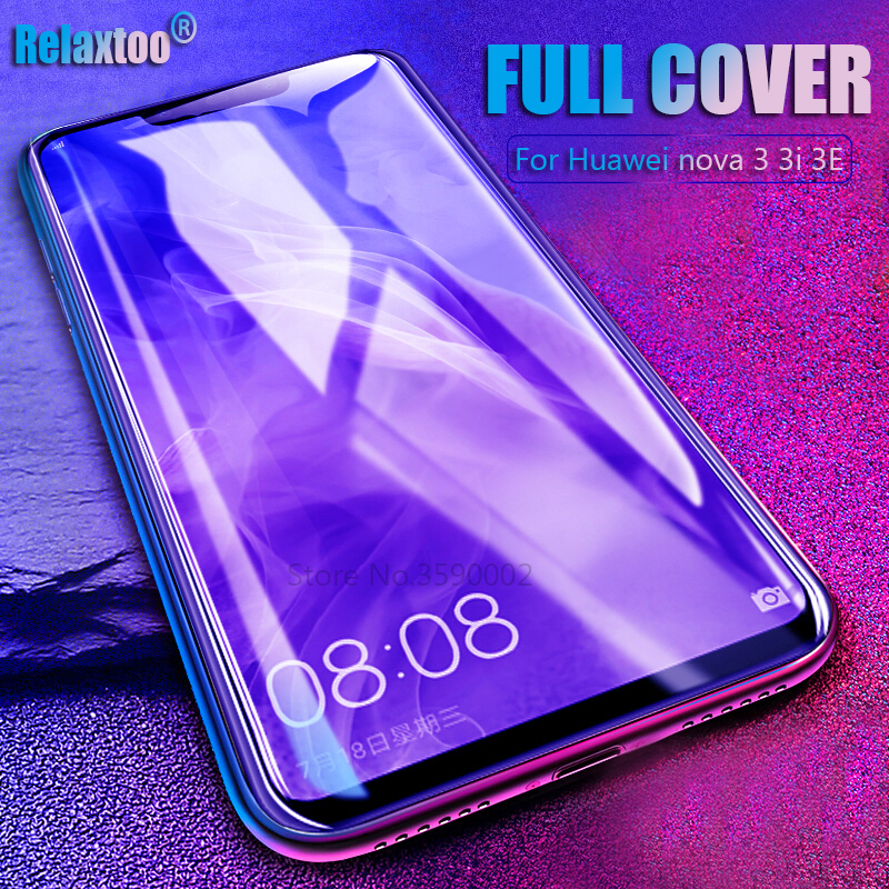 US $1 19 34% OFF|For Huawei nova 3i Tempered Glass Screen Protector huawey  nova 4 3e nova 3 i e nova3 nova3i nova3e p20 lite Full Cover film-in Phone