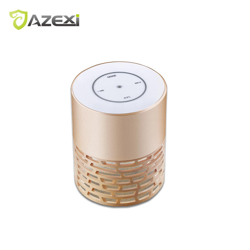 Portable Wireless Bluetooth Speaker Flashing Light Hollow Column with Mic Support AUX TF Card FM Radio for Android iOS Phone portable speaker high power bluetooth wireless fm radio tf card light for partytime