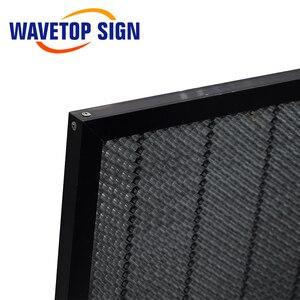Image 5 - WaveTopSign 300*200mm 350*250mm Laser nid dabeille Table de travail plate forme Laser pièces pour CO2 Laser graveur découpeuse