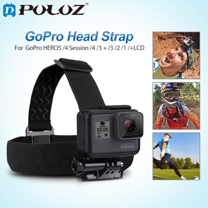 PULUZ for Go Pro Accessorie Elastic Head Strap Mount Belt and Chest Bet Kit For SJCAM SJ4000 /GoPro HERO5 4Session HERO5 4 3+321