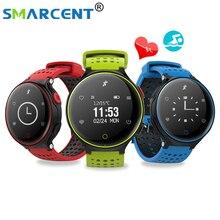 Оригинальный S9 Смарт Часы Heart Rate Мониторы IP68 Водонепроницаемый Одежда заплыва Bluetooth SmartBand Приборы для измерения артериального давления кислорода dynimac SmartWatch