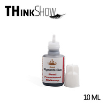 10ML/Bottle Professional Pigment for Eyelashes Extension,No odor No Simulation Permanent Individual Volume Lashes