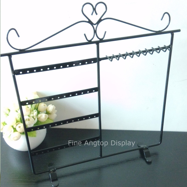 Aliexpresscom Buy Desktop Metal Earring Display Rack Black