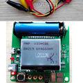 LCD Combo Digital Transistor Tester LCR Mega328 resistor indutor Diode Triode Capacitância ESR Medidor MOS/PNP/NPN + clipe de teste