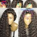 Brazilian Silk Base Curly Full Lace Human Hair Wigs Silk Top Lace Front Human Hair Wigs With Baby Hair Lace Wigs For Black Women