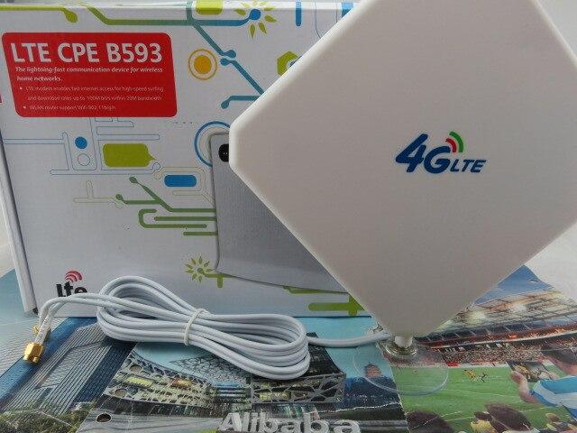 Lte FDD 4g wireless router Huawei b593, VPN huawei b593s-22+4G Antenna