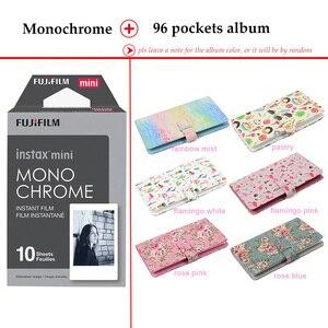Image 2 - Fujifilm Instax Mini Film Monochrome 10 Sheets for Instax Mini 9 8 7s 70 90 25 Instant Polariod Camera Smartphone Printer SP 2 1