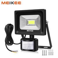 20W LED Motion Sensor Flood Light 2000lm IP66 Waterproof LED Floodlight Outdoor Spotlight 6000K Halogen Light for Garden Patio