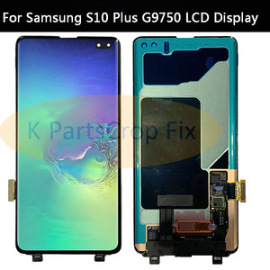 Image 4 - AMOLED For Samsung Galaxy S10 2019 SM G9730 G973F LCD Display Touch Screen Digitizer Replacement For SAMSUNG S10 Plus G9750 LCD