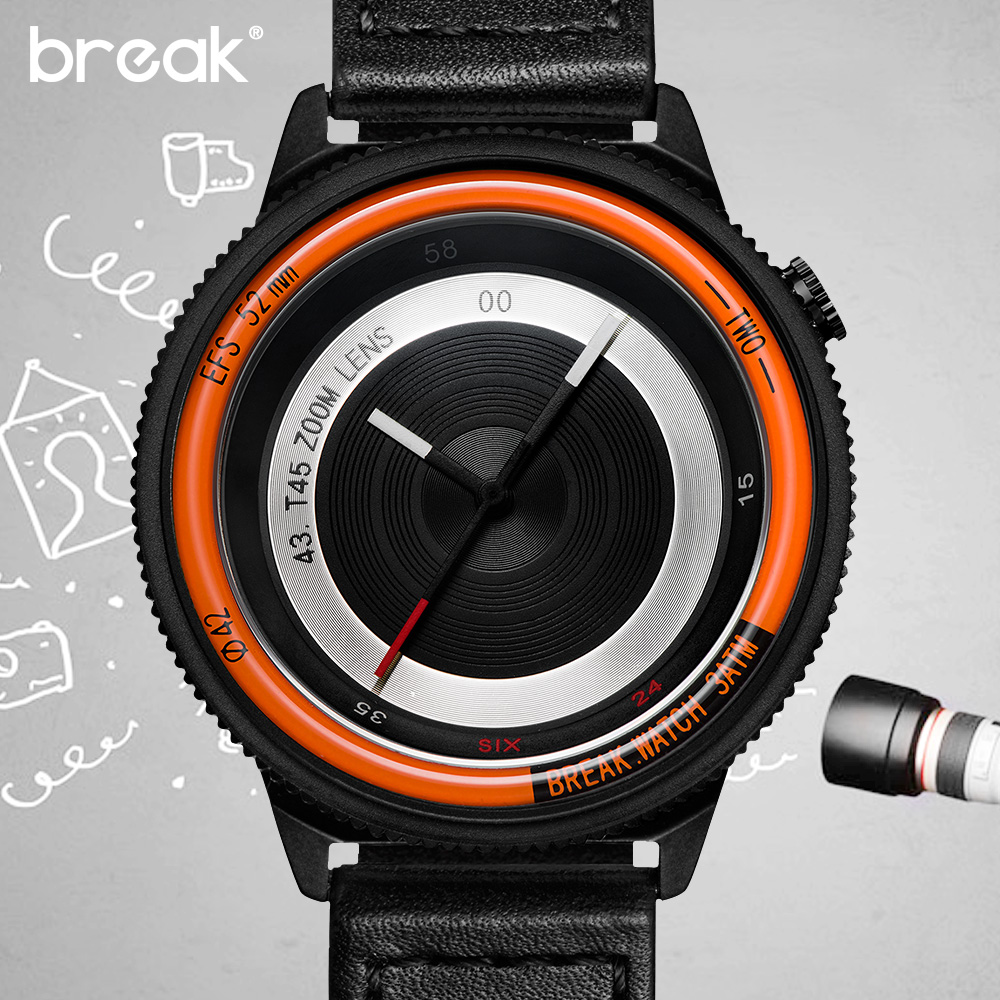 Break Photographer Creative Watches Women Fashion Watch ...