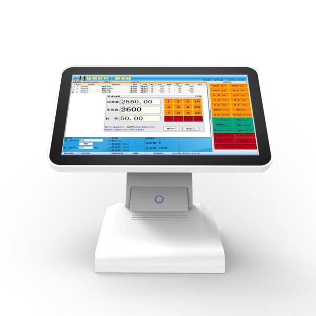 Meilleure vente d'usine 15 pouces tout en un écran tactile Pos système de Point de vente pour Restaurant supermarché caisse enregistreuse 3