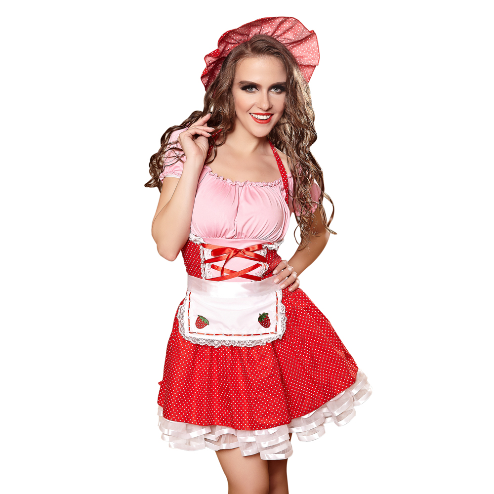 Sexy Housemaid Costume Dress Halloween Costume For Woman Maid Party Costume Cosplay Girls Sexy Stage Performance Dancewear