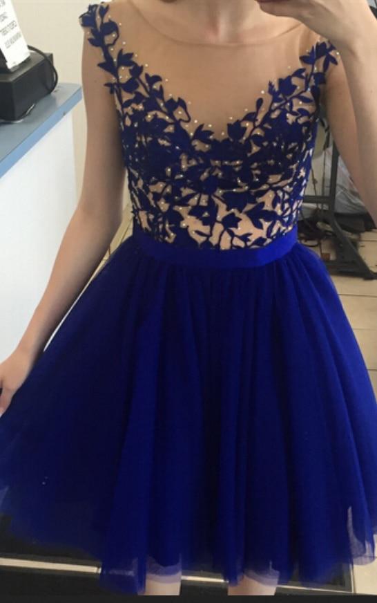 royal blue dress - 546×872