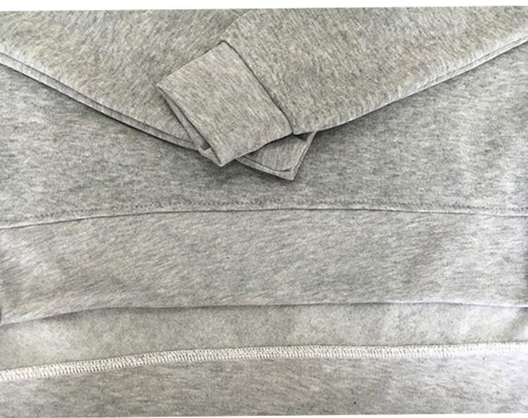Women Tracksuit Long Sleeve Slit Solid Sweatshirts Casual Suit Women Clothing 2 Piece Set Tops Pants Sporting Suit Female 9