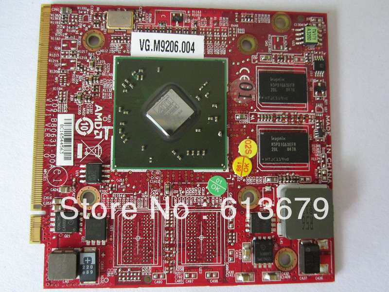 HD4650 For ATI Mobility Radeon HD3470 <font><b>HD</b></font> 3470 512MB Video Graphics Card for Acer Aspire 4920G 5530G 5720G 6530G 5630G 5920g image