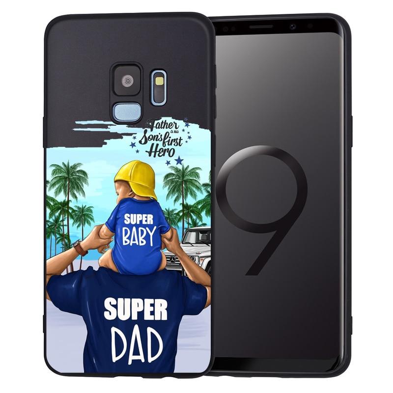 Чехол для телефона для Samsung Galaxy S9, S8, S10 Plus, S7, S6 Edge, S10 Lite, Note9, 8, семейный чехол, Etui - Цвет: 09