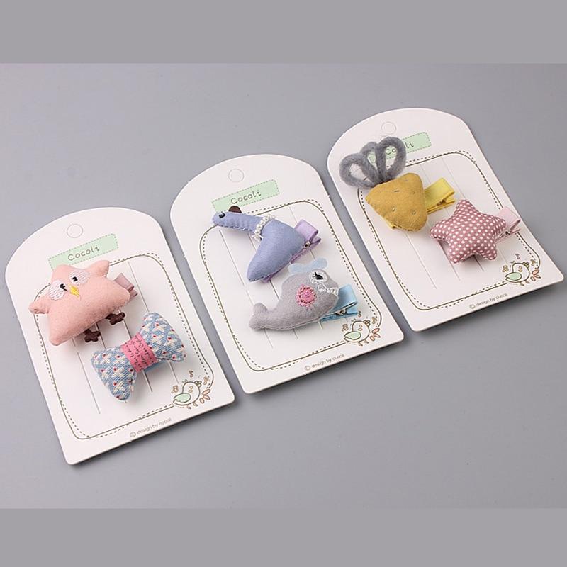 BalleenShiny 1PC New Design Hot Sale Baby Girls Kids Hair Clips Cute Cartoon Animals Hairpins Barrette Headband Accessory Gift
