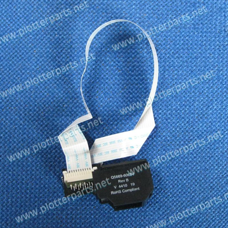 цена  Q6683-67004 Q5669-60683 Q5669-60624 Line sensor HP DesignJe T610 T1100 T770 T790 Z2100 Z3100 Original Used  онлайн в 2017 году
