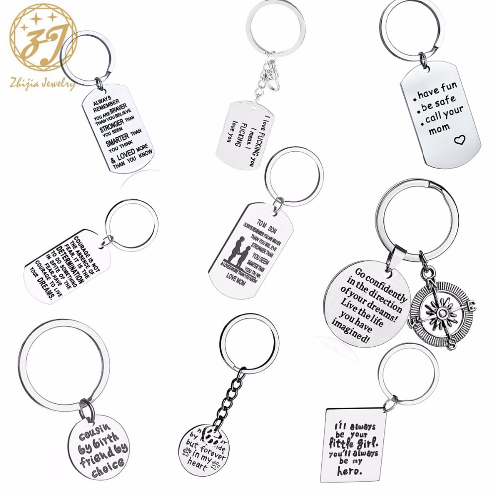 Zhijia Grandmother Silver Color Stainless Steel Keychain For Women Round Key  Chain Jewelry Grandmother Gift-in Key Chains from Jewelry   Accessories on  ... 04e6cf1a7f