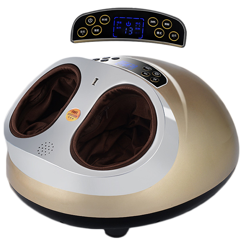 Masseur de pieds électrique multifonction 4D massage Shiatsu thérapie thermique Massage airbag plantaire SPA pour équipement de réflexologie plantaire