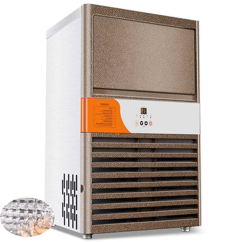 Jamielin Commercial Automatic Ice Maker Industrial Ice Maker / Ice Cube Making Machine For Supermarket & Coffee Teamilk Shop