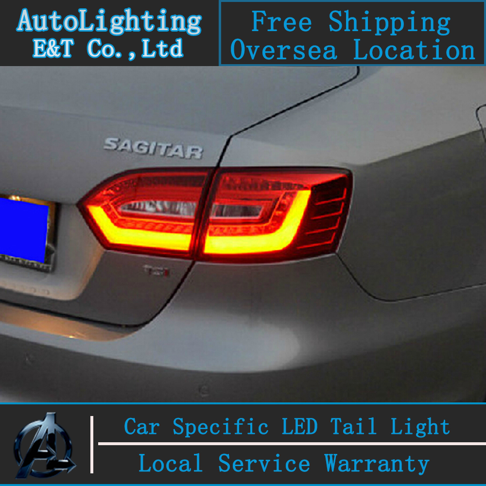 Shipping Option Car LED Tail Lamp for VW Jetta tail lights 2011-2014 GLI drl rear trunk lamp cover signal+brake+reverse plusobd app control wifi car dvr video recorder hidden installation camcorder from camera black box dash cam for benz e w207