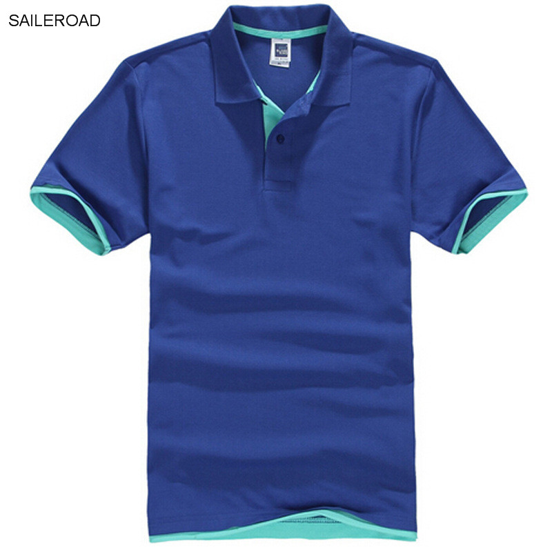 New Plus Size Brand Men's   Polo   Shirt Men Cotton Short Sleeve Shirt Classic Jerseys Men Tops Casual Stand Collar Male   Polo   Shirt