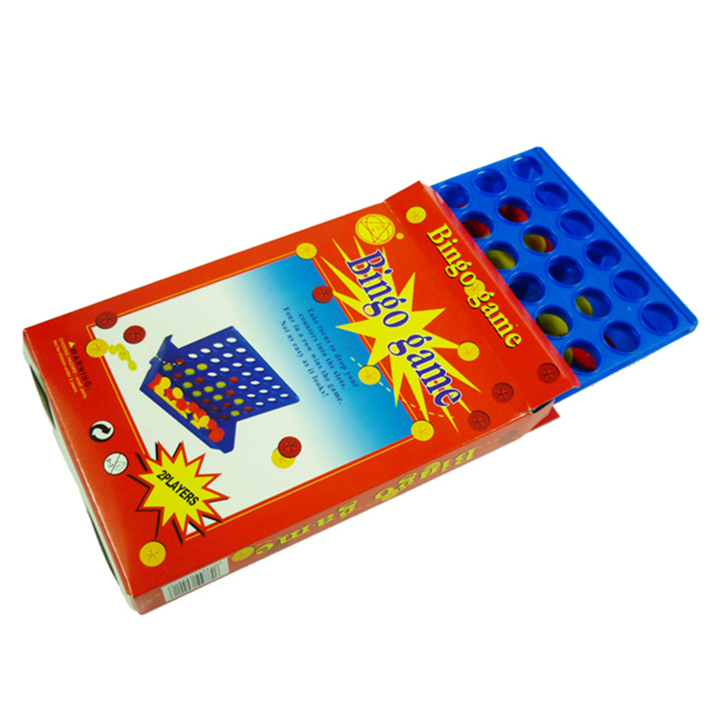 S/M/L Pocket Game Connect 4 in a row Bingo Board Game for kids and adults Funny Family Toy Travel Party Games Children Math Toys