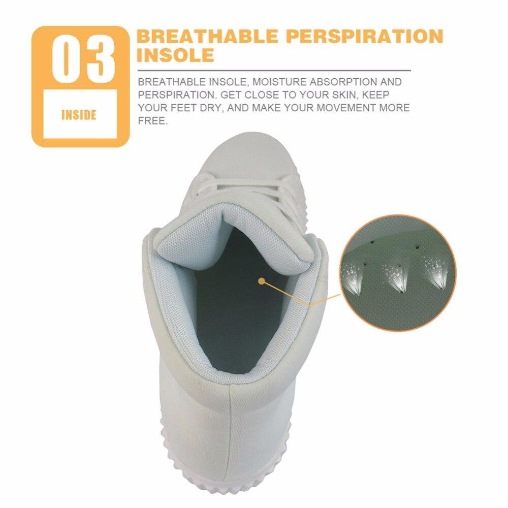 INSTANTARTS 3D amant livre imprimer femmes automne plate-forme décontracté respirant haut plat chaussures Zapato hauteur augmentant - 6