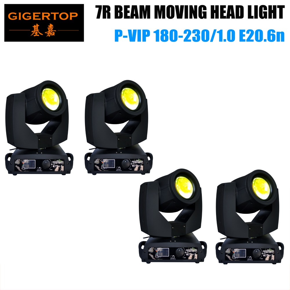 Bestselling China manufacturer 4XLOT sharpy 7r beam 230 moving head sharpy 230w beam disco light moving head stage lighting 7r beam sharpy moving head light 230w white housing moving head beam stage light beam 230 dmx dj disco club lighting