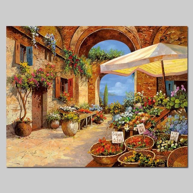 Aliexpresscom Buy Europe village style seaside Mediterranean