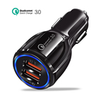 USB Car Charger Quick Charge 3.0 2.0 Mobile Phone Charger 2 Port USB Fast Car Charger for iPhone Samsung xiaom Huawei Tablet