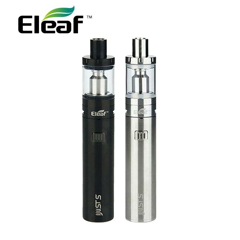 Original Eleaf iJust S Starter-Kit integrierte 3000 mAh Batterie & 4 ml Top Füllt Zerstäuber Tank & EC/ECL Spulen E Zigarette Vape Kit